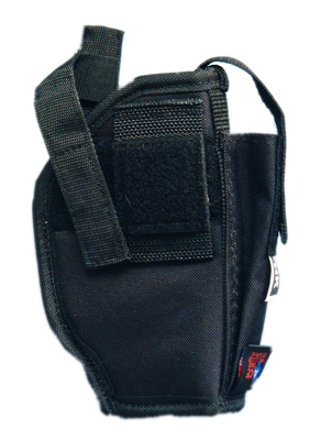 Picture of Black Fabric Holster with magazine pouch (C or CF)
