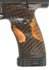 Picture of Hydro dipped snake skin grips for JCP or JHP handgun