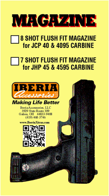 Picture of IBERIA 7 ROUND MAGAZINE FOR THE HI-POINT JHP MODEL HANDGUN. BY IBERIA ACCESSORIES.