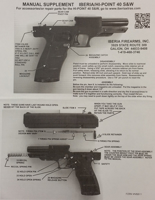 Picture of Replacement JCP Manual Supplement