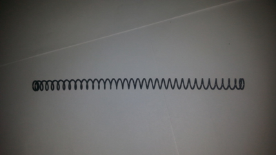 Picture of Replacement Recoil Spring