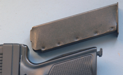 Picture of Hi-Point Magazine 40 JC 8 round. This will not work in the JCP handgun.